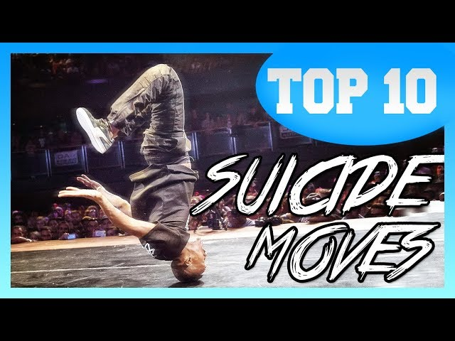 TOP 10 Suicide Moves in Breakdance