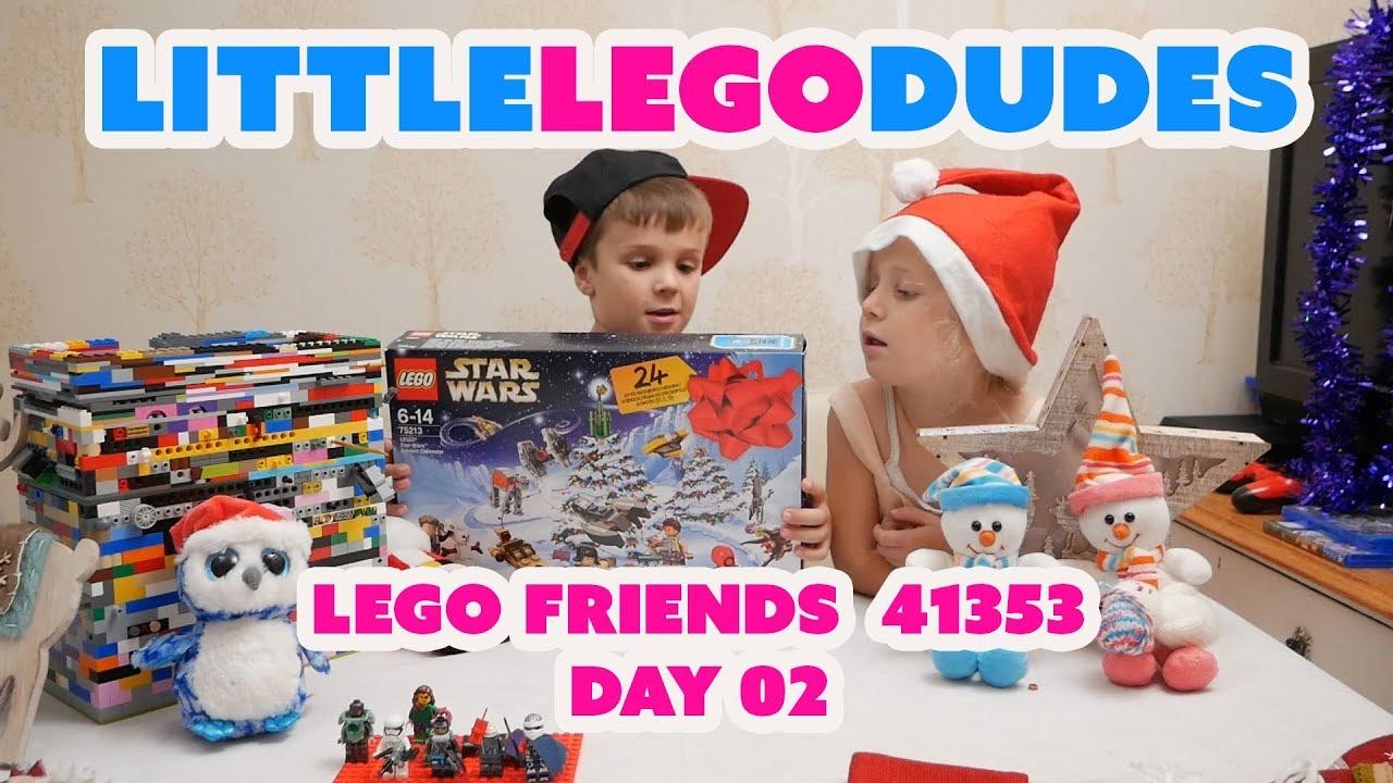 lego friends advent calendar 2018 day 2 youtube. Black Bedroom Furniture Sets. Home Design Ideas
