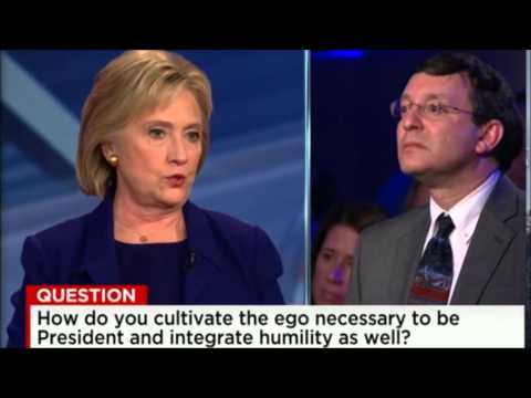 Hillary Clinton Answers Rabbi's Question About Humility in Politics