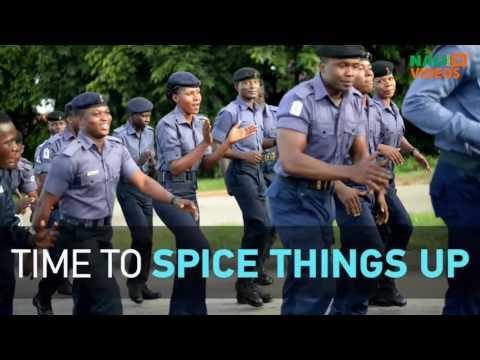 Nigerian navy show of fitness in Abuja