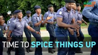 Nigerian navy show of fitness in Abuja