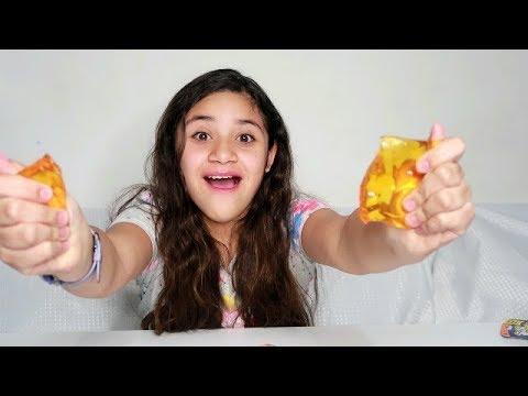 Haul Slime Comprado VS Slime Casero   $ 1 Dollar Slime
