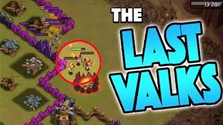 LAST VALKS 3 STAR! - Clash of Clans - Most Clutch Clan War Valks EVER!