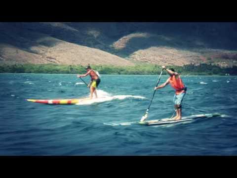 Maui 2 Molokai Challenge - paddle race promo 2016