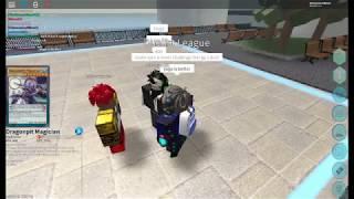 I found a cheating scrub in Roblox Yugioh: Dimension Duels