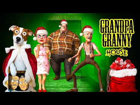 🎄НОВОГОДНЕЕ ОБНОВЛЕНИЕ 🎁Grandpa And Granny House Escape 🎄Merry Christmas 🎁