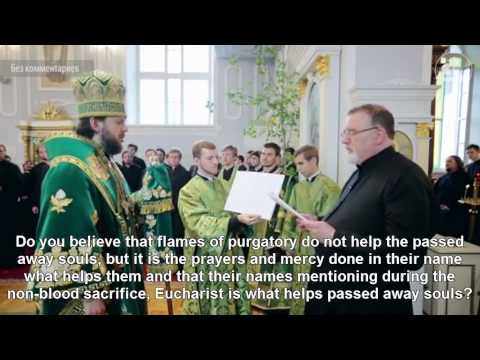 Roman-Catholic priest converts to Orthodoxy - Orthodox Church