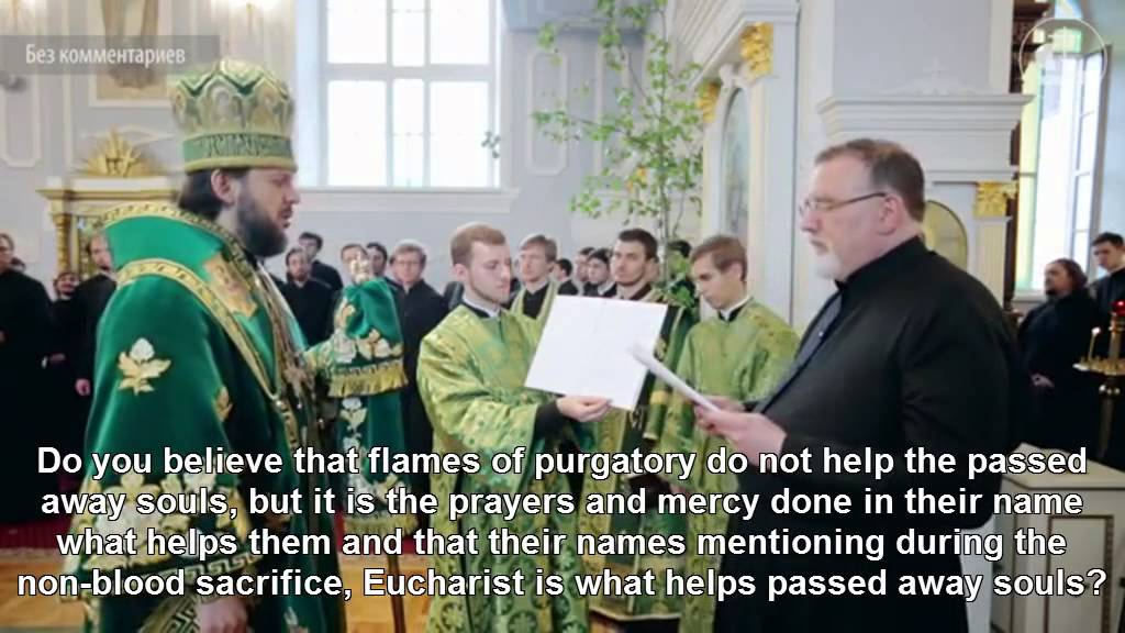 Roman-Catholic priest converts to Orthodoxy - Orthodox Church