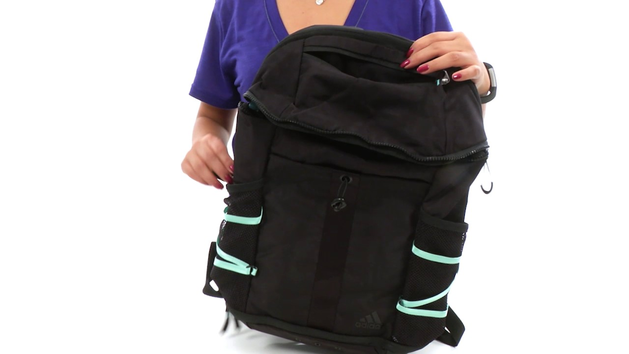 adidas Studio II Backpack SKU 8818741 - YouTube fcad35ff81