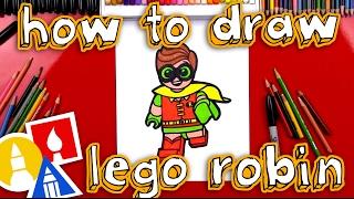 How To Draw Lego Robin