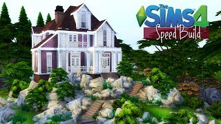 DOM NA WZGÓRZU - Szybka budowa | Speed Build | The Sims 4