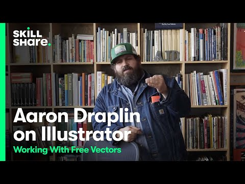 Aaron Draplin on Working Efficiently in Illustrator with Free Vectors