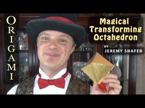 Origami Magical Transforming Octahedron