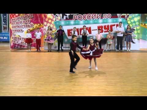 Russian Open Boogie Woogie Championship '16 - Juniors /Final - Yashin Anton - Donskova Rimma