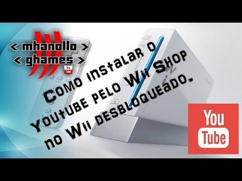 Nintendo Wii: Como instalar o Youtube pelo Wii Shop Channel no Wii desbloqueado.