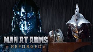 Shredder's Helmet and Arms Blades (TMNT) - MAN AT ARMS: REFORGED