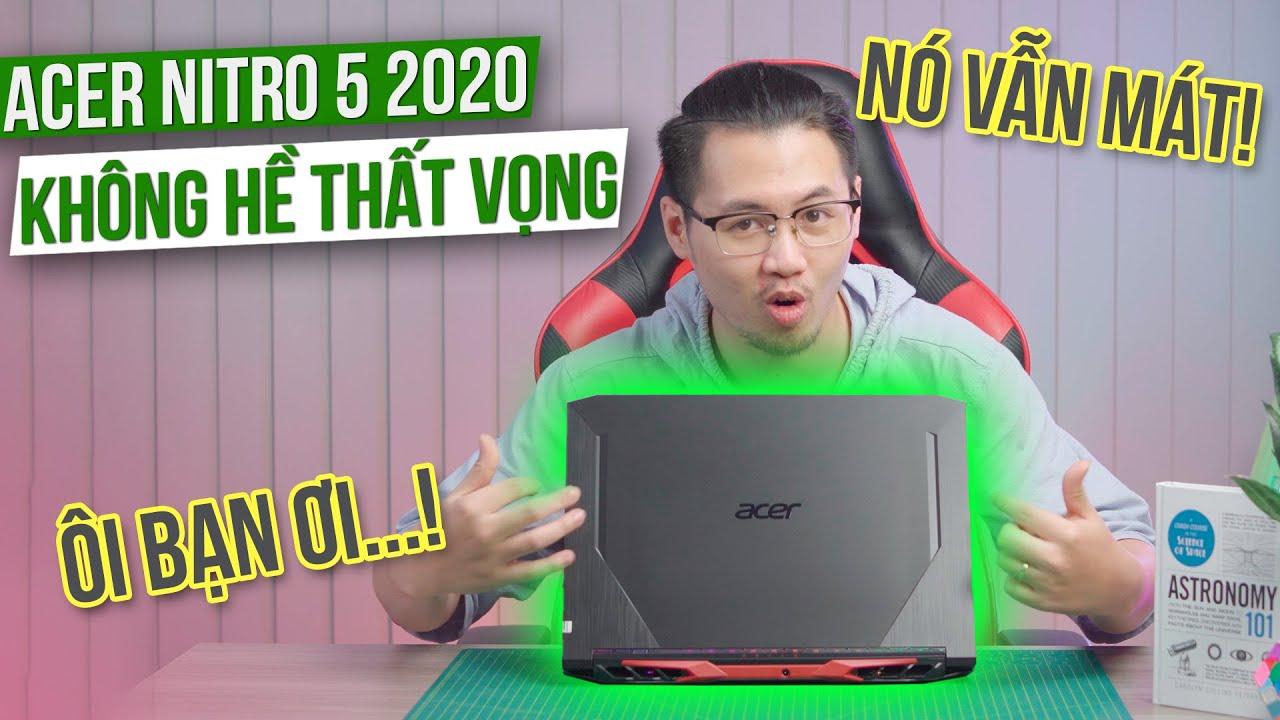 Tản Nhiệt Nitro 5 – Chưa Từng Làm Game Thủ Thất Vọng | Đánh Giá Laptop Chơi Game Acer Nitro 5 2020