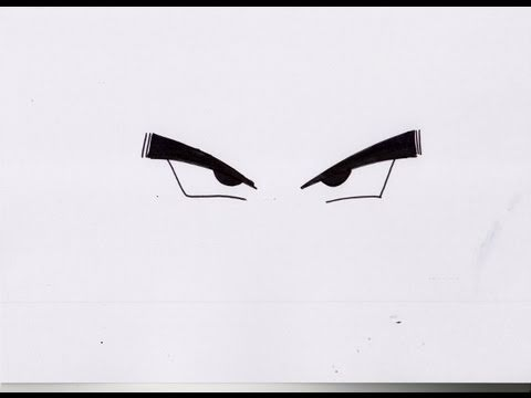 How To Draw Dbz Eyes 2 ドラゴンボールz の 目 Youtube
