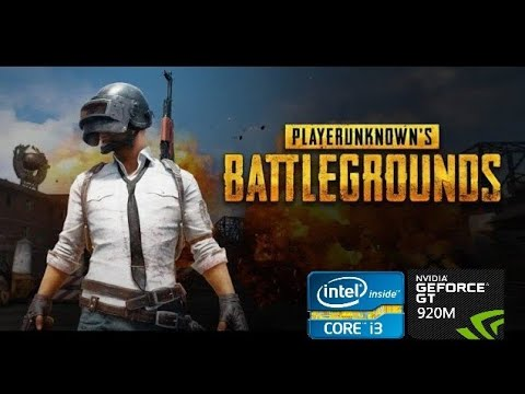 First Time PUBG Gameplay   i3 4th Gen   8GB DDR3   Nvidia Geforce 920M Gameplay