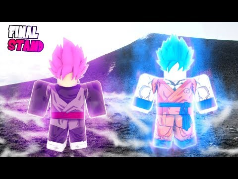 DRAGON BALL Z FINAL STAND | KAIOKEN BLUE VS MASTERED ROSE