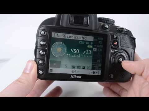 How to set up a Nikon D3100 for video
