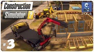 Construction Simulator 2 PS4 - Episode 3: Building a 2-Storey House...