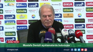 [Canlı Yayın] Kasımpaşa Teknik Direktörü Mustafa Denizli basın toplantısı düzenliyor