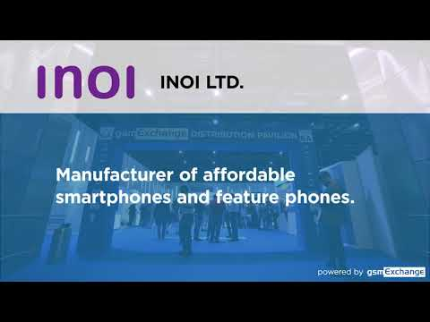 INOI Ltd - Exhibitors @gsmExchangetradeZone @MWC Barcelona 2020