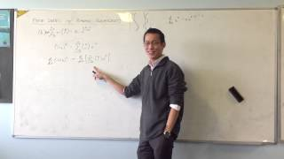 Finite Series w/ Binomial Coefficients: Differentiation