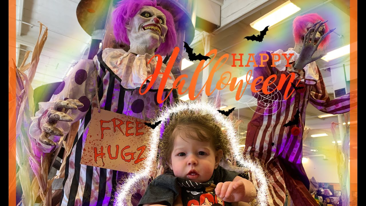 toddler reborn shopping at spirit halloween store reactions nlovewithreborns2011
