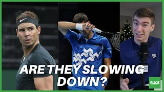 Stephen reacts to and breaks down thiem beating nadal 7-6,7-6 medvedev djokovic 6-3, 6-3.support our work by supporting sponsors: 👕 clothing...
