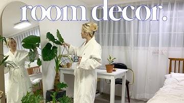 외국갬성 셀프 룸 인테리어, 플랜테리어 어반정글 🌴힙한 식물하울 14가지 &가구 언박싱 ㅣpay.a.tension