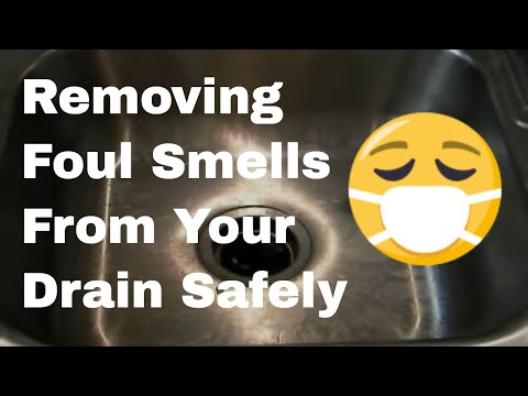 how to remove a foul smell from your drain - youtube