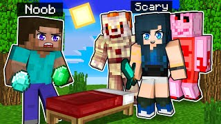 Minecraft Bedwars but we're scary...