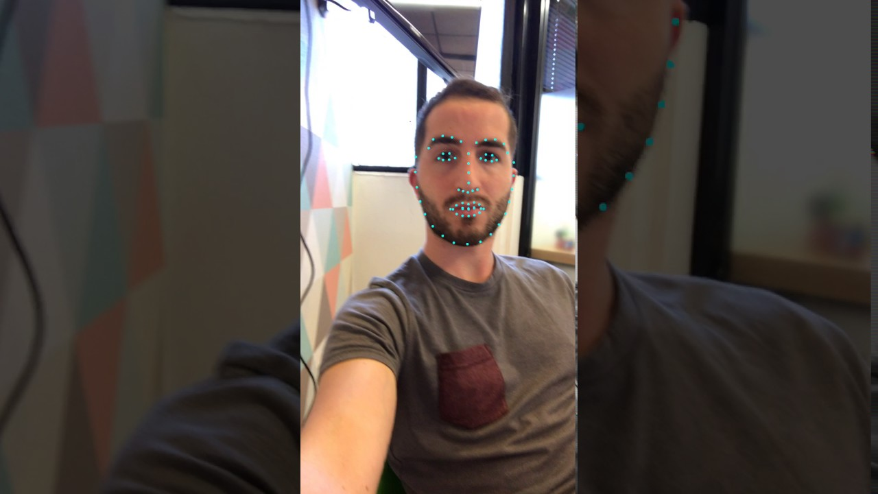 Real-Time Facial Landmark Detection on iOS