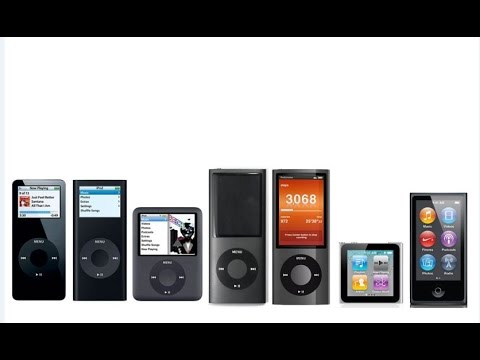 Ipod Nano History And Improvements Youtube