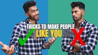 6 Psychological TRICKS to Make People LIKE You INSTANTLY