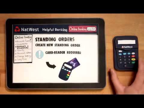 Natwest How To Set Up A Standing Order Youtube