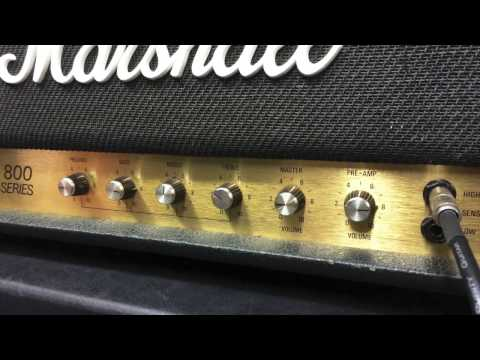 Marshall 2555 Jubilee - NY Hardcore Boost Test by