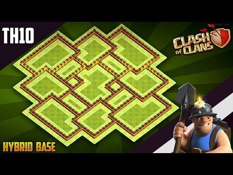 New INSANE TH10 HYBRID/TROPHY[defense] Base 2019!!  Town Hall 10 Trophy Base Design - Clash of Clans