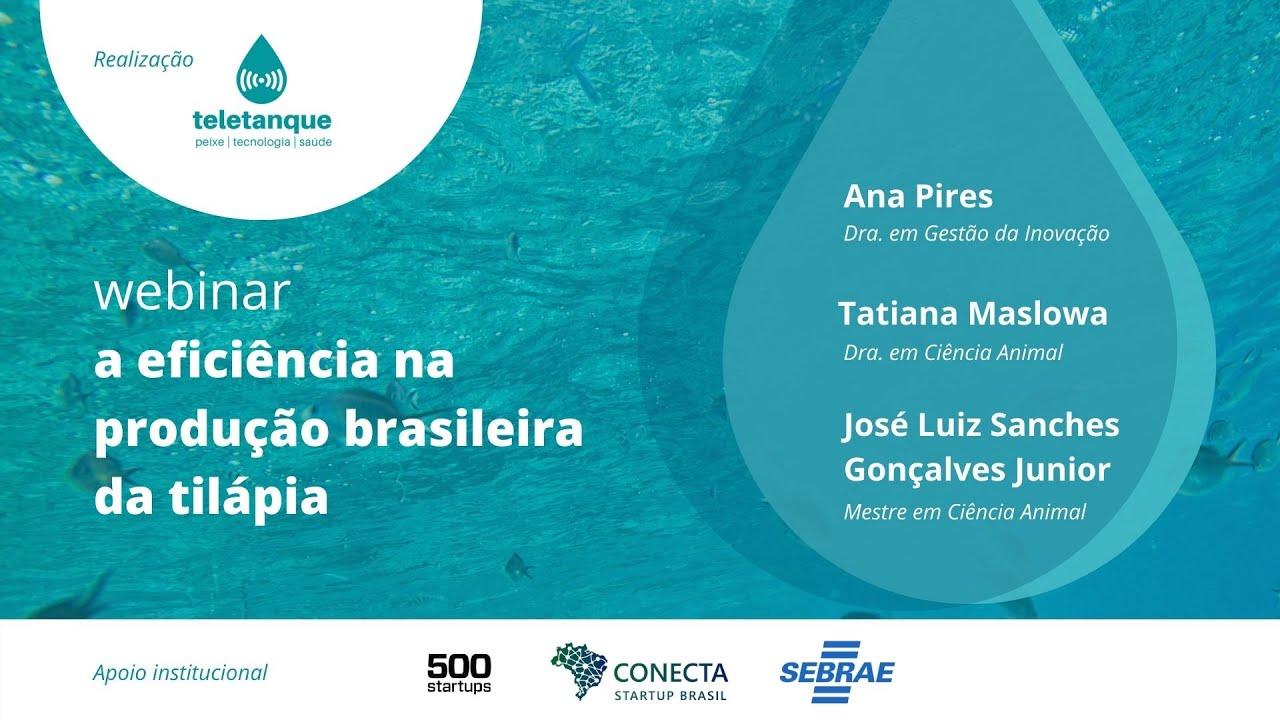 WEBINAR 1: A EFICIÊNCIA NA PRODUÇÃO BRASILEIRA DE TILÁPIA