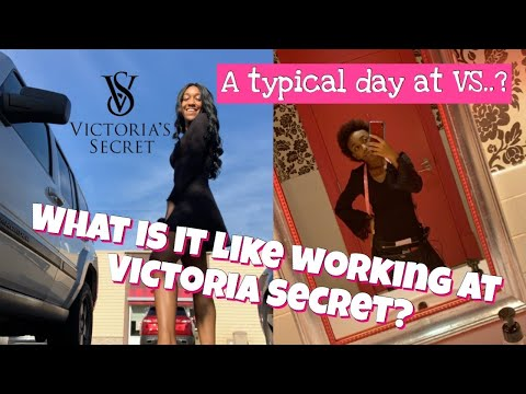 What's It Like Working At Victoria Secret? 💓   Is VS. The Job For Me🤔
