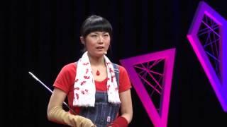 The reason why I pursue glass art   Yukie Kimura   TEDxSapporo
