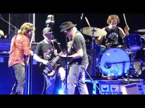 """Cortez the Killer"" Neil Young@Susquehanna Bank Center Camden, NJ 7/16/15 Rebel Content Tour"