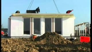 Монтаж каркасно-панельного дома на стройплощадке(, 2012-10-24T08:18:30.000Z)
