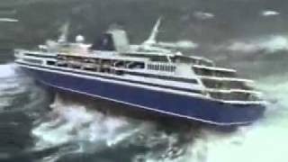 x-large waves nearly drowns cruise ship