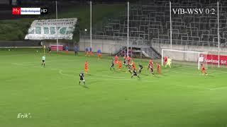 WSV - VfB Hilden, Niederrheinpokal Achtelfinale