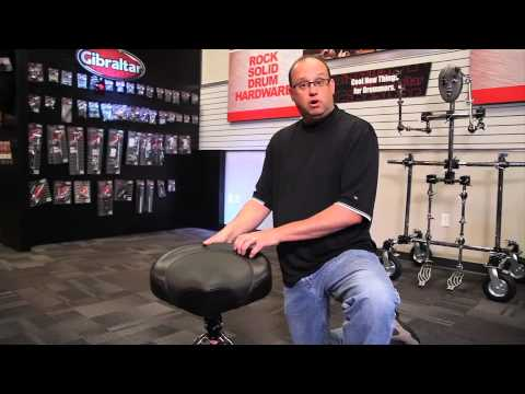 Gibraltar 9608-2T Drum Throne Saddle Seat With New Color Overview | Full Compass