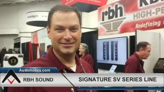 cedia 2016 coverage rbh signature reference speakers enhanced with new amt tweeter
