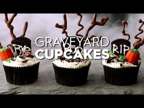 Graveyard Cupcakes | Fun With Food | Better Homes & Gardens